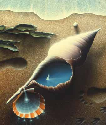 Scott Thom Visionary Airbrush Paintings And Lithographs
